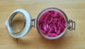 fermented onions