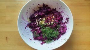 fermented purple cabbage
