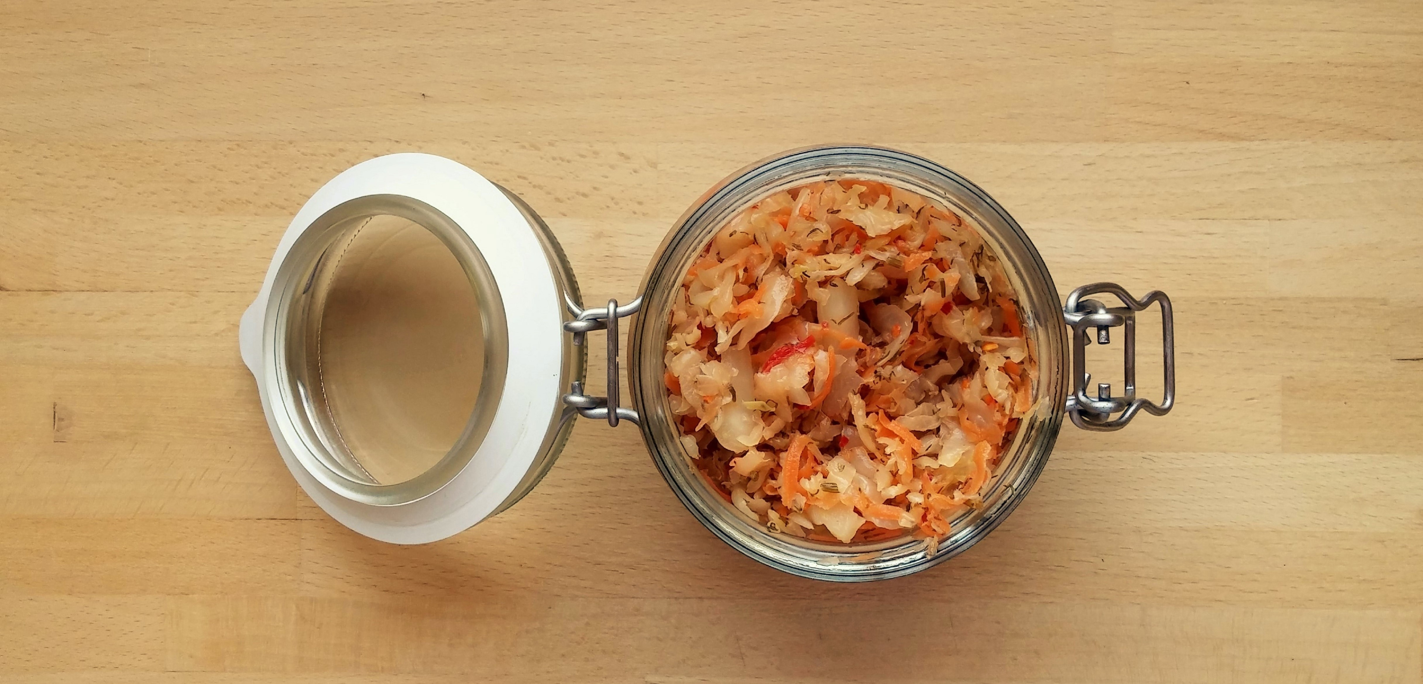 Spicy Carrot Sauerkraut