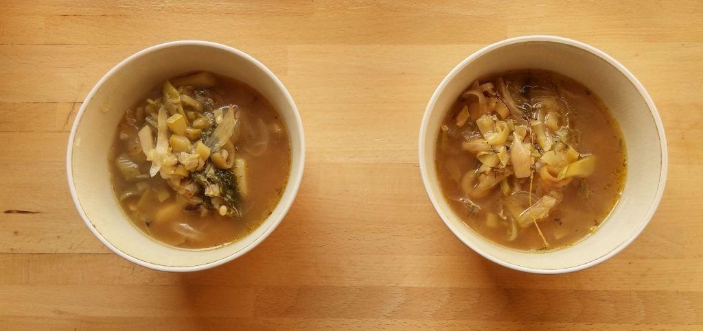 leek and onion soup