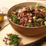 red quinoa salad