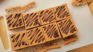 easy no bake peanut butter bars, no bake dessert recipes
