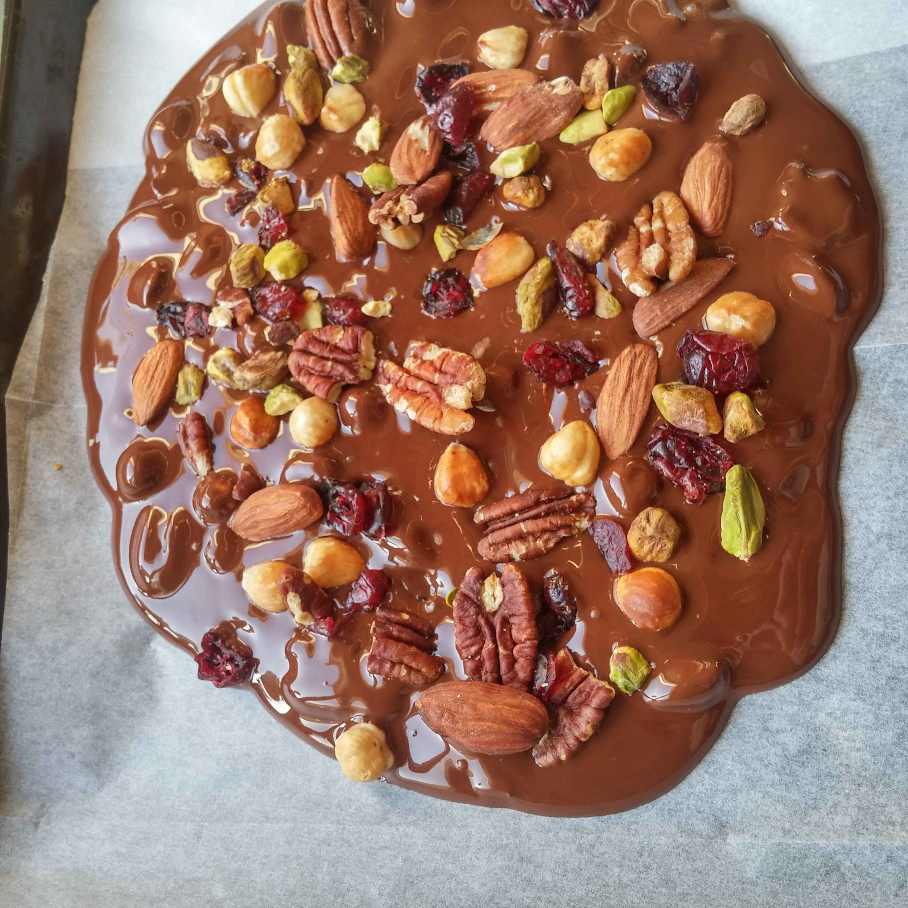 how to make homemade chocolate bark