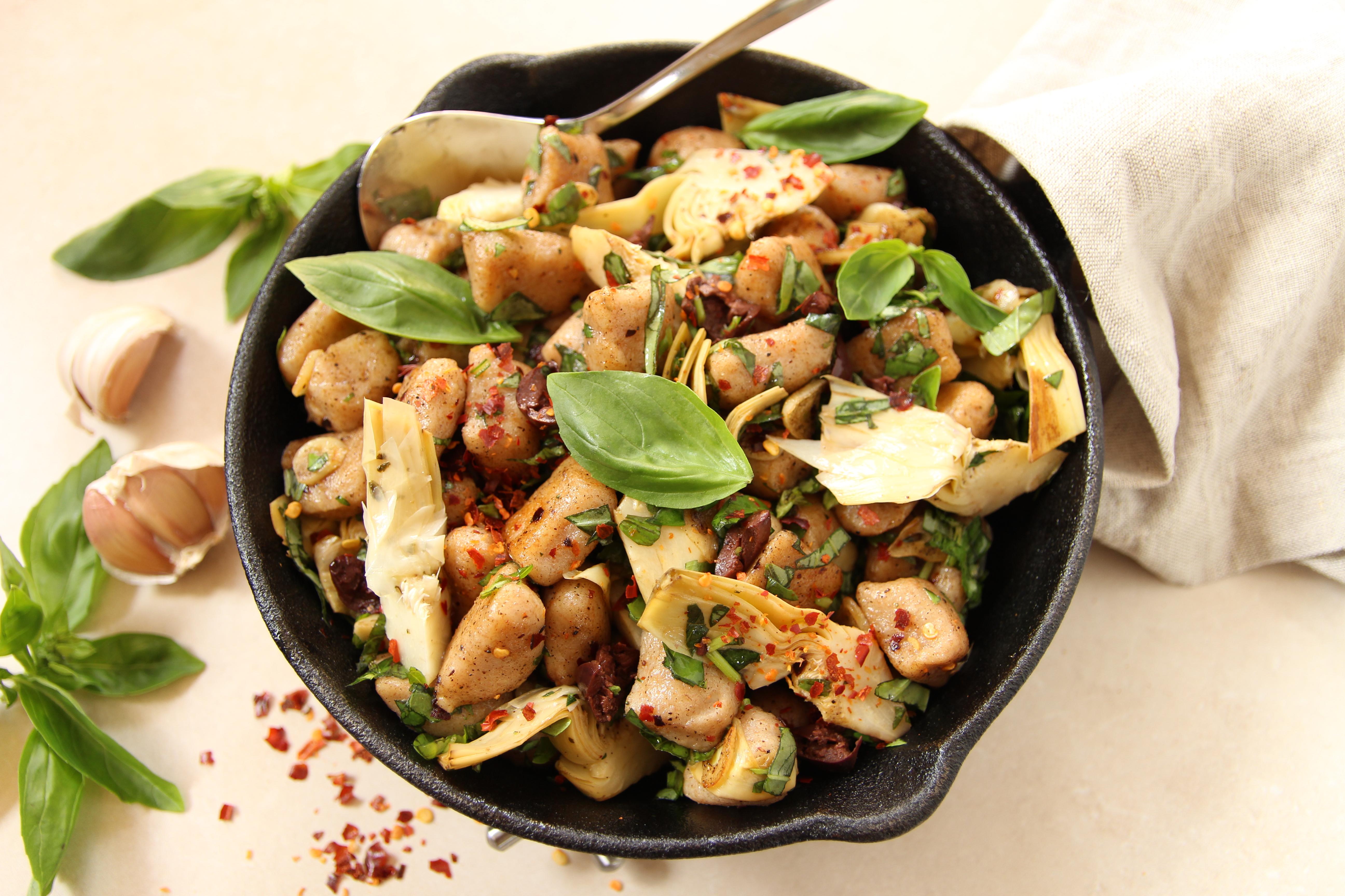 how to make vegan gnocchi