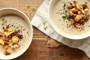 cauliflower soup vegan