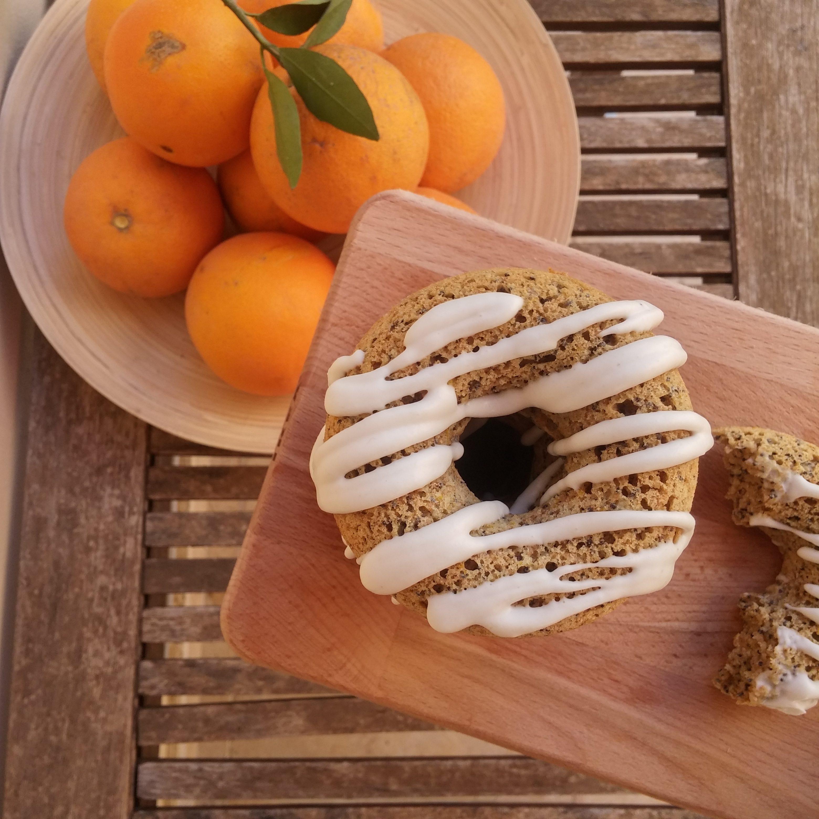 baked vegan donuts