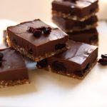 chocolate cherry fudge