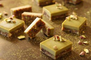 matcha slice bars, no bake dessert recipes