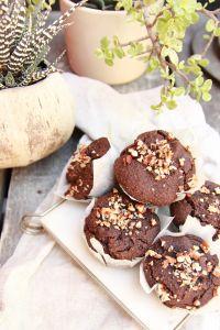 vegan chocolate muffins
