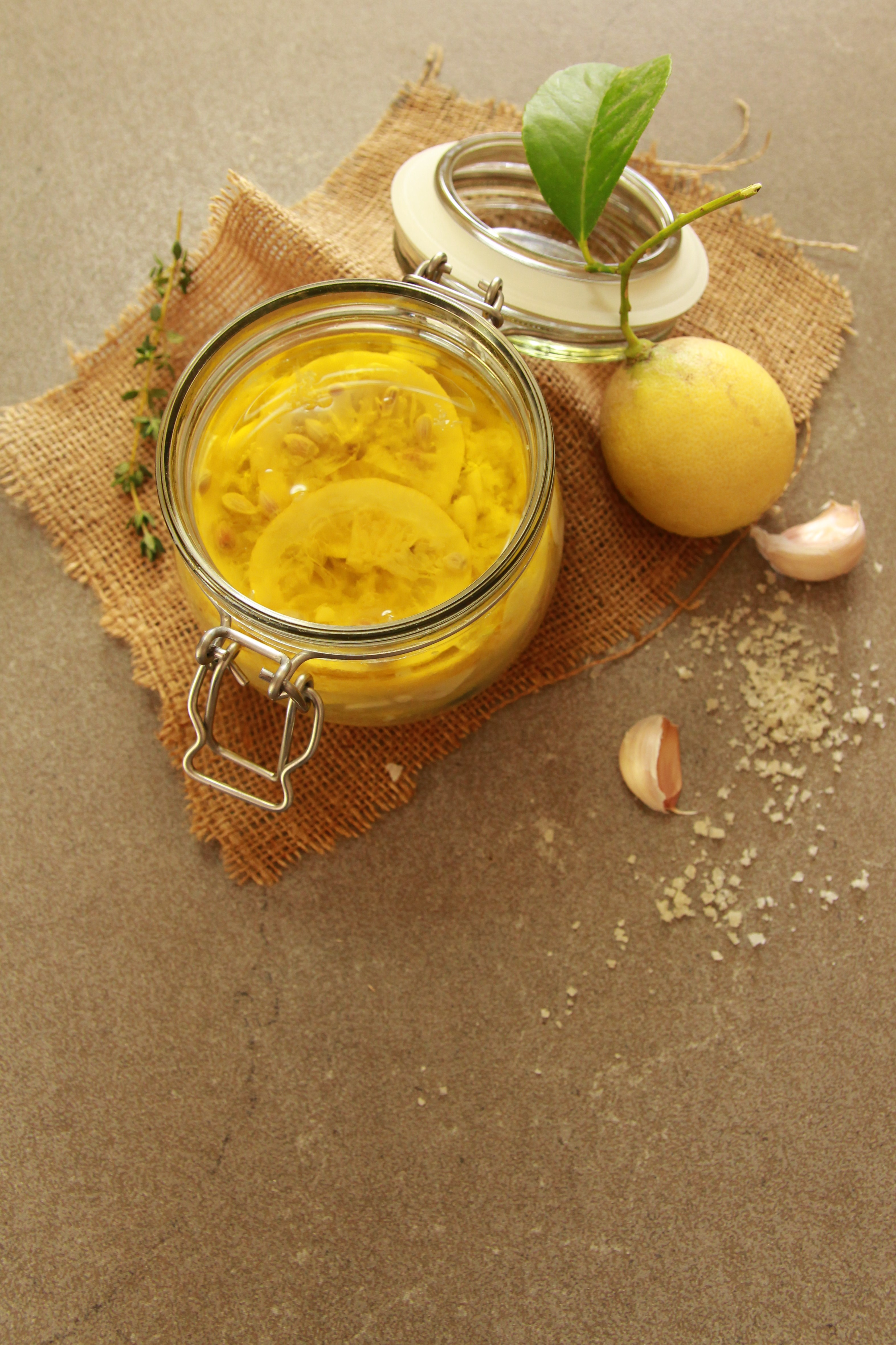 fermented lemons