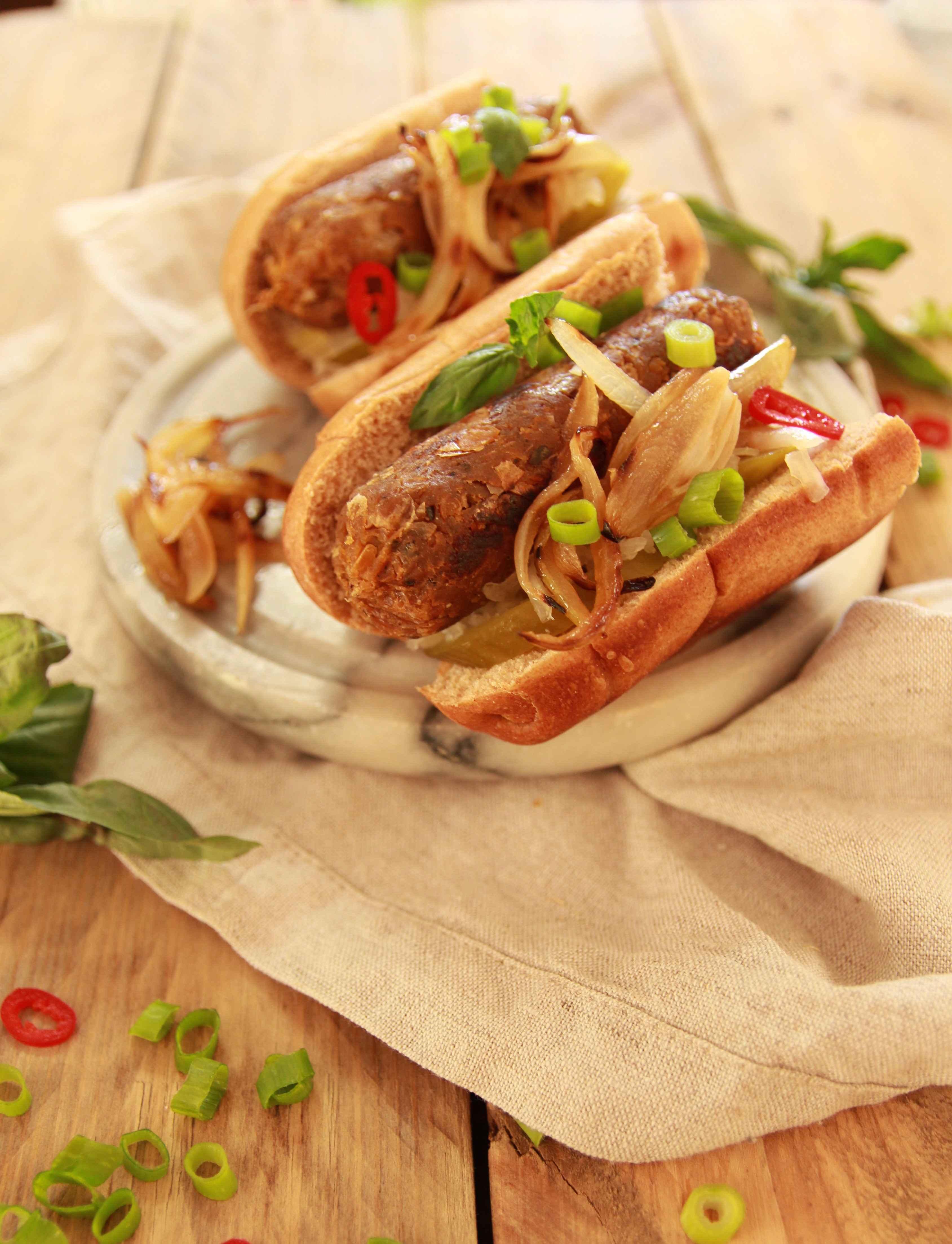 how to make vegan sausages