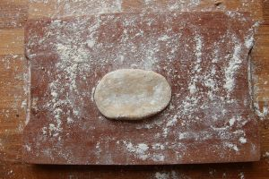 chestnut and mushroom pastry