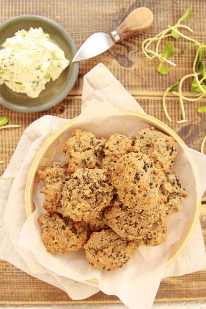 vegan drop biscuits