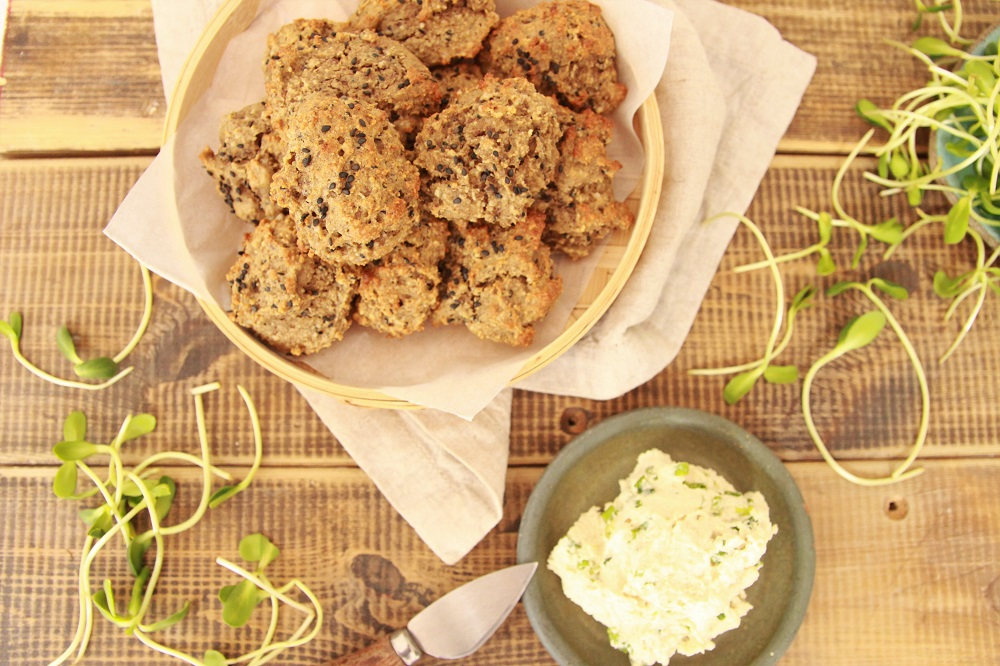 vegan drop biscuits