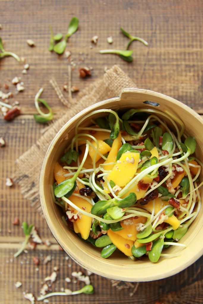easy mango salad