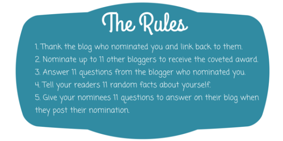 Image result for liebster award rules