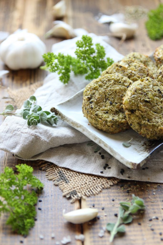 Baked Broccoli Quinoa Patties
