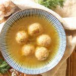 vegan matzo balls