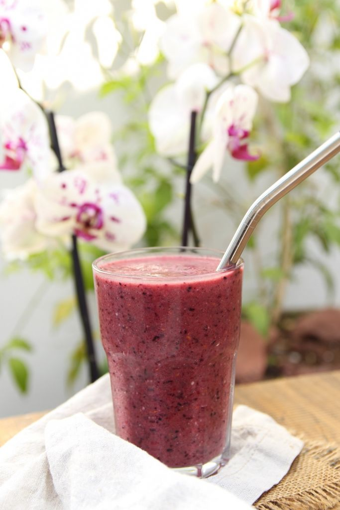Super Healthy Energy Boosting Fruit Smoothie!