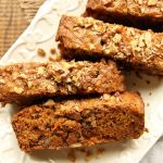 Classic Vegan Carrot Cake Loaf