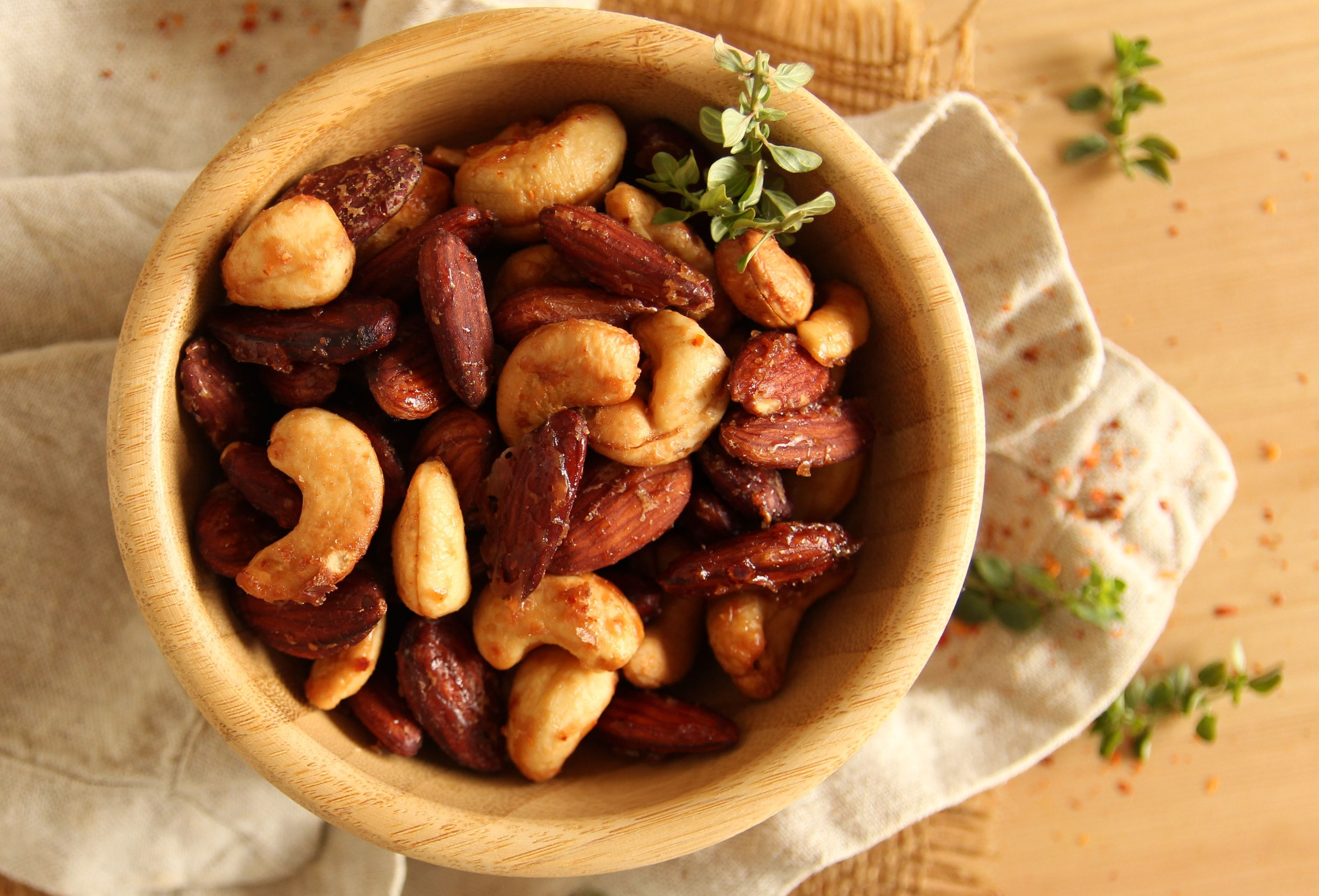 roasted nuts